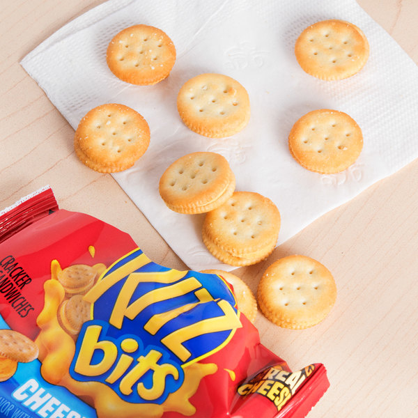 Nabisco 1 oz. Cheese Ritz Bits Snack Pack - 48/Case