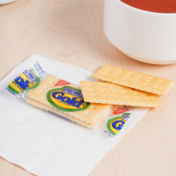 Nabisco 2 Count (.22 oz.) Premium Gold Crackers - 400/Case