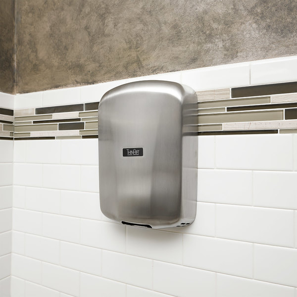 excel ta sb thinair high efficiency hand dryer with brushed stainless steel cover 120v 950w - Excel Hand Dryer