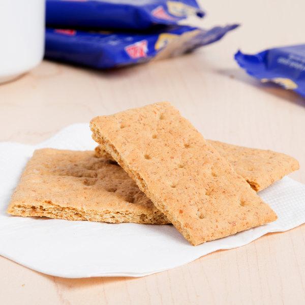 Nabisco Honey Maid 2-Count (.50 oz.) Honey Graham Crackers Snack Pack - 200/Case Main Image 4