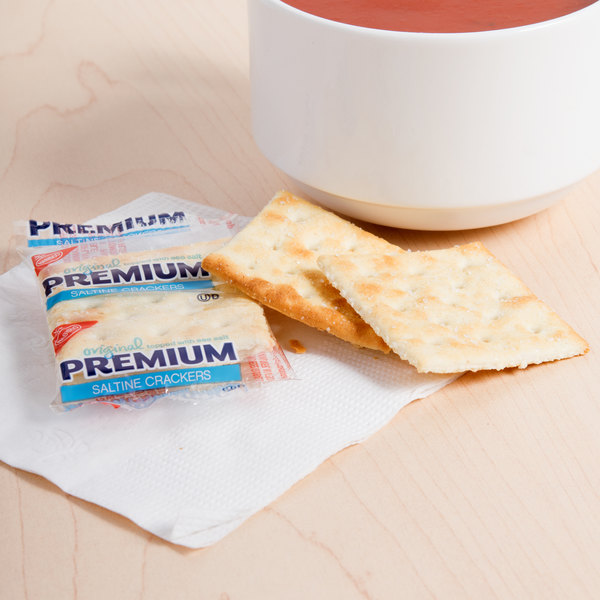 Nabisco 2 Count (.2 oz.) Premium Saltine Crackers - 500/Case