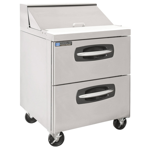 "Master-Bilt MBSP27-8A-001 28"" 2 Drawer Refrigerated Sandwich Prep Table"