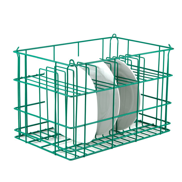 """14 Compartment Catering Plate Rack for Square Plates up to 11"""" - Wash, Store, Transport Main Image 7"""