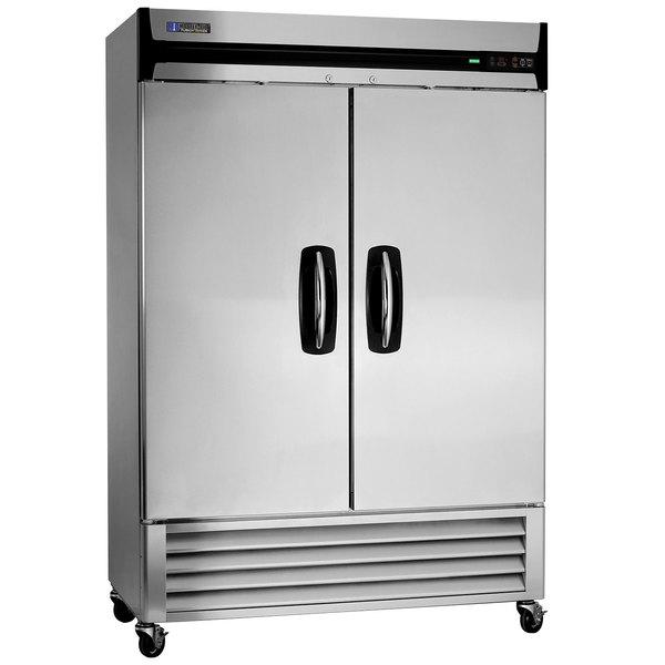 """Master-Bilt MBF49-S 55"""" Solid Door Reach-In Freezer Main Image 1"""