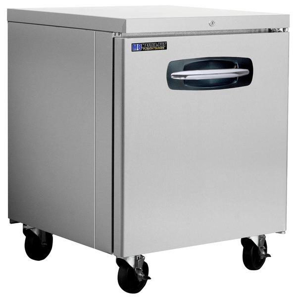 """Master-Bilt MBUR27A-015 28"""" Fusion Undercounter Refrigerator with Door Lock"""