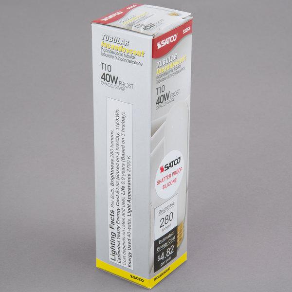 Satco S3253 40 Watt Frosted Shatterproof Finish