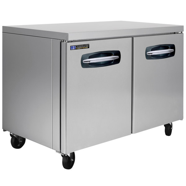 "Master-Bilt MBUF48A 48"" Fusion Undercounter Freezer Main Image 1"