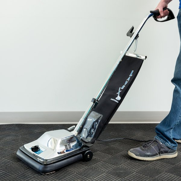 """Lavex Janitorial 12"""" Upright Bagged Vacuum Cleaner Main Image 6"""