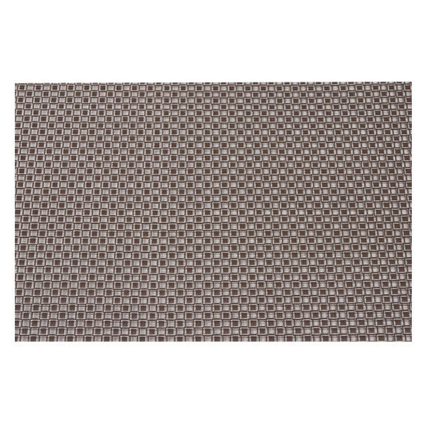 """Snap Drape PMPISA005 Cityscape 16"""" x 12"""" Pisa Brown PVC Placemat - 12/Pack Main Image 1"""