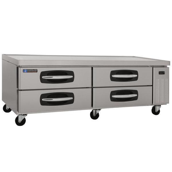 """Master-Bilt MBCB72 Fusion 72"""" 4 Drawer Refrigerated Chef Base Main Image 1"""