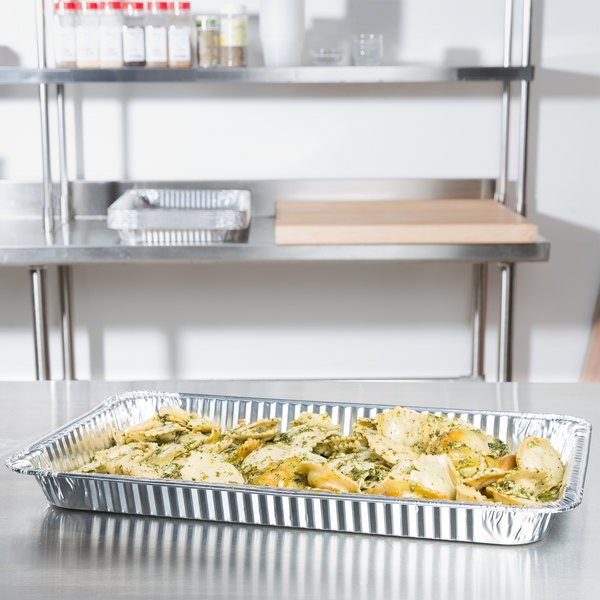 Full Size Foil Steam Table Pan Shallow Depth - 50/Case