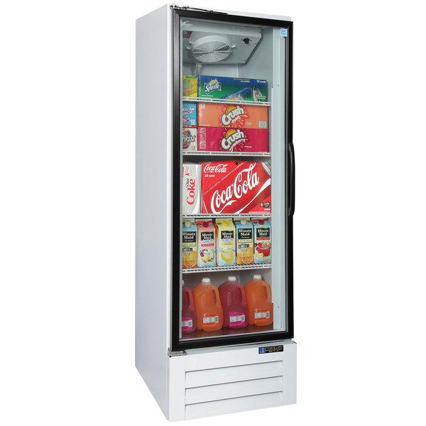 """Master-Bilt BMG-23-HGP 27"""" White Glass Door Refrigerated Merchandiser"""