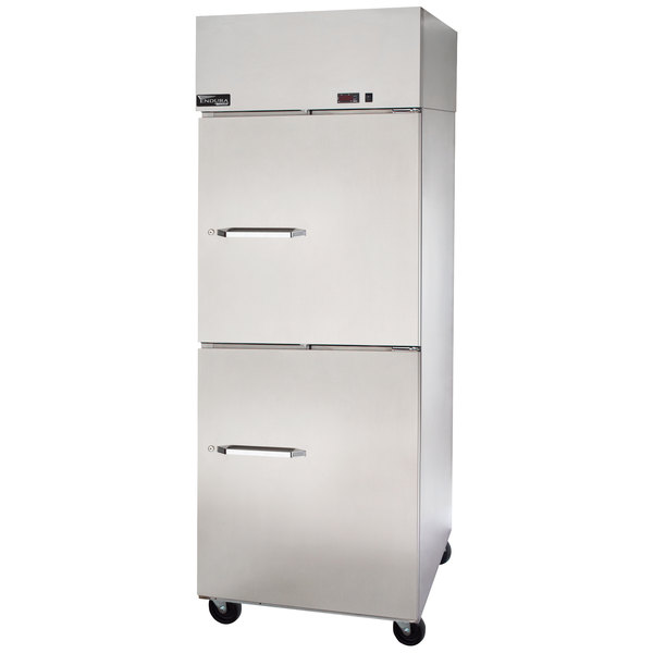 """Master-Bilt MNR242SSS/0 Endura 28"""" Solid Half-Door Reach-In Refrigerator"""