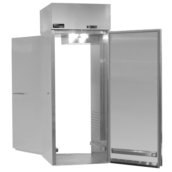 """Master-Bilt MPWW332 Endura 32"""" Insulated Full Height Stainless Steel Roll-Through Holding Cabinet"""