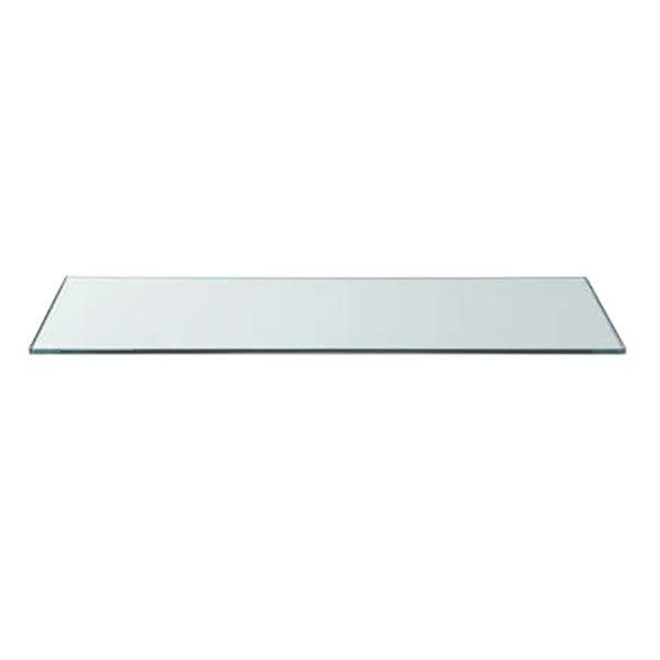 Rosseto sg014 33 1 2 x 7 3 4 rectangular clear acrylic for Square narrow shape acrylic
