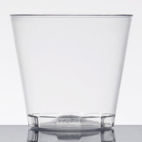 Fineline Quenchers 401-CL 1 oz. Plastic Shot Cup - 2500/Case