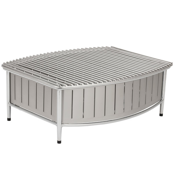 Vollrath 4667580 Natural Large Buffet Station with Wire Grill