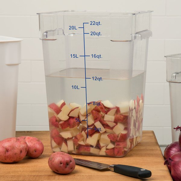 22 qt. food storage container