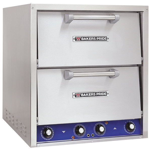 Bakers Pride P-44S Electric Countertop Pizza and Pretzel Oven - 220-240V, 1 Phase, 7200W