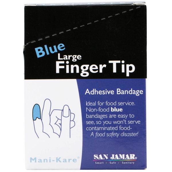 San Jamar MK0904 Mani-Kare Fingertip Bandage - 25/Box