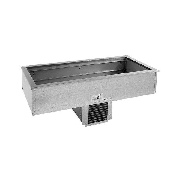 Delfield N8143B Three Pan Drop In Refrigerated Cold Food Well