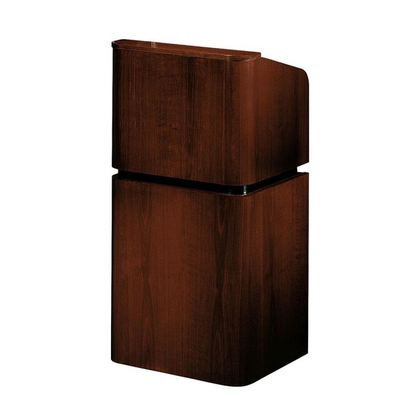 Oklahoma Sound 910/901MY/WT Mahogany on Walnut Finish Combination Floor Lectern