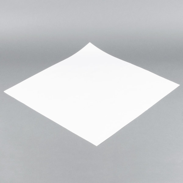 36'' x 36'' 40# White Paper Table Cover - 244/Bundle Main Image 1