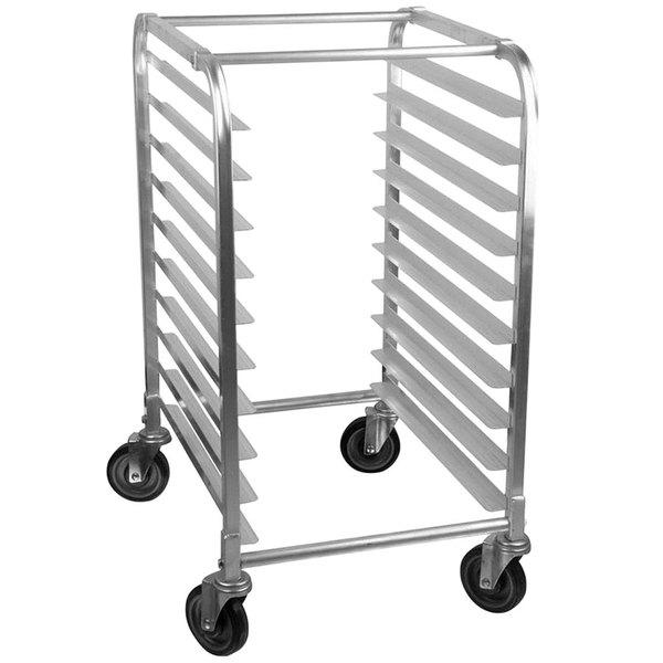 Advance Tabco PR10-3W 10 Pan Half Height End Load Bun / Sheet Pan Rack - Assembled Main Image 1