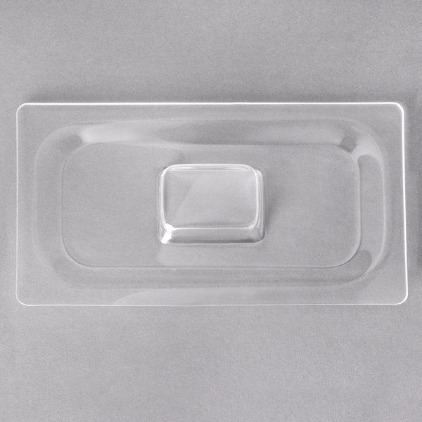 Carlisle CM112707 Coldmaster 1/3 Size Clear Food Pan Lid Main Image 1