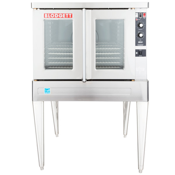 Blodgett BDO-100-E Single Deck Full Size Electric Convection Oven - 208V, 1 Phase, 11kW Main Image 1