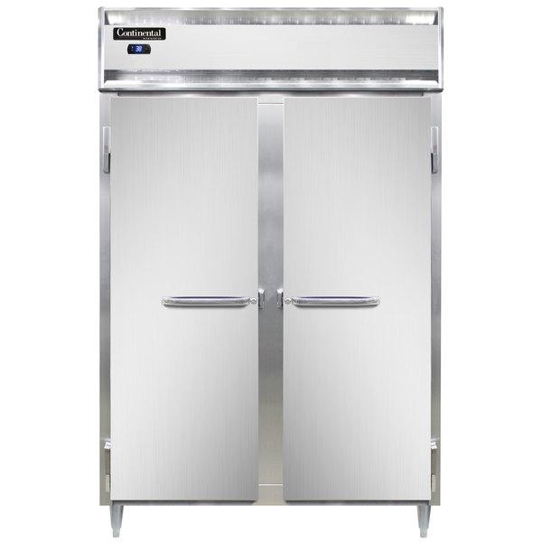 "Continental D2RN 52"" Solid Door Reach-In Refrigerator Main Image 1"