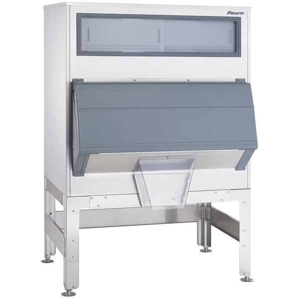 "Follett DEV860SG-48-BG 48"" Ice Storage Bin with Bagger Kit - 860 lb."