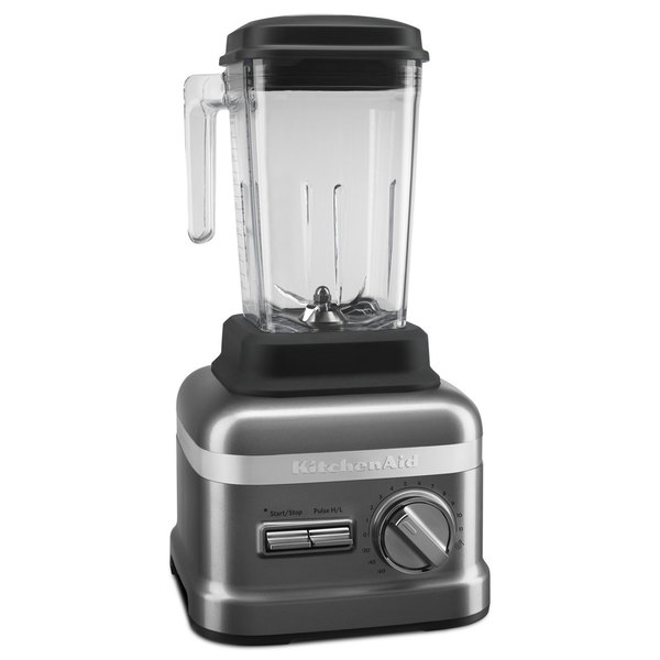 KitchenAid KSBC2F1DP Dark Pewter 3.5 hp 60 oz. Variable Speed Blender with Programmable Coulis Cycle - 120V