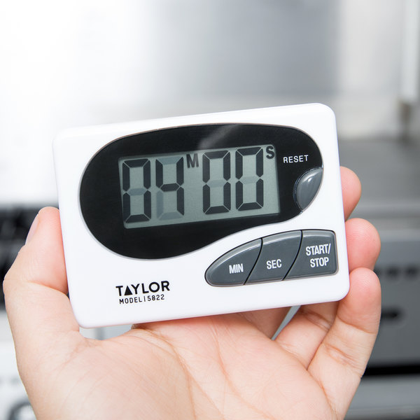 Taylor 5822 Digital Kitchen Timer with Memory