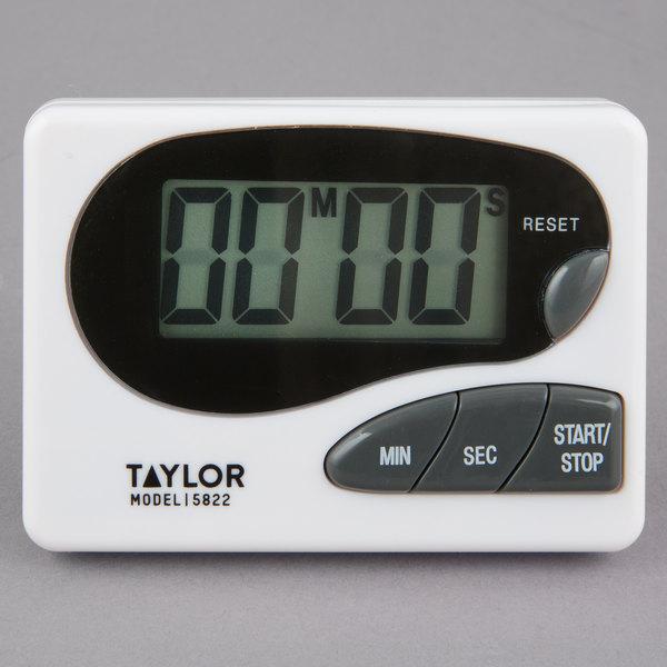 Digital Kitchen Timer | Taylor 5822 Digital Kitchen Timer With Memory