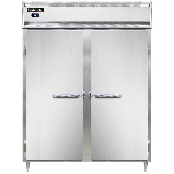 """Continental D2REN 57"""" Extra-Wide Solid Door Reach-In Refrigerator Main Image 1"""