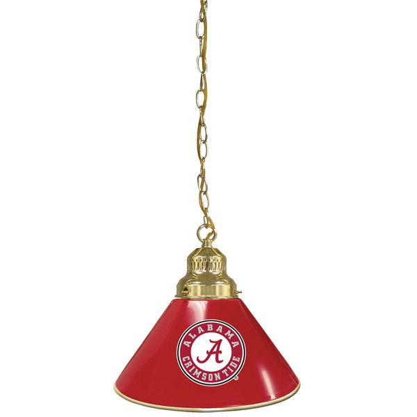 Holland Bar Stool BL1BRAL-A University of Alabama Logo Pendant Light with Brass Finish - 120V Main Image 1