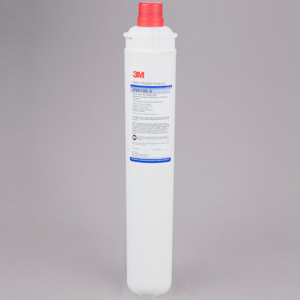 """3M Water Filtration Products CFS9112EL-S 18 11/16"""" Retrofit Sediment, Chlorine Taste and Odor Reduction Cartridge with Scale Inhibition - 1 Micron and 1.67 GPM Main Image 1"""