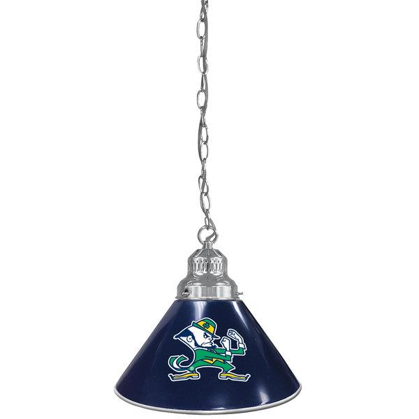 Holland Bar Stool Bl1chnd Lep University Of Notre Dame Logo Pendant Light With Chrome Finish 120v