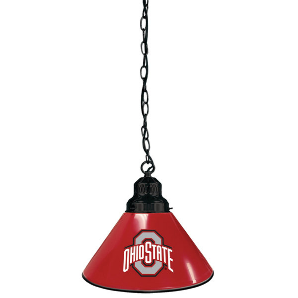 Holland Bar Stool BL1BKOhioSt Ohio State University Logo Pendant Light with Black Finish - 120V Main Image 1