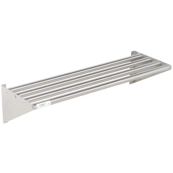 Regency 16 X 48 Stainless Steel Tubular Wall Mounted Shelf