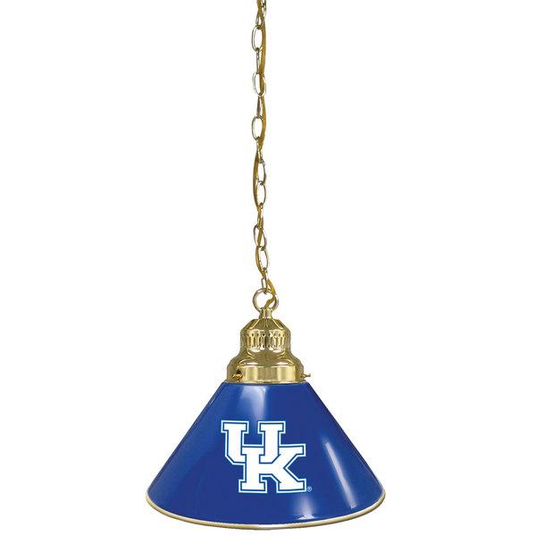 Holland Bar Stool BL1BRUKY-UK University of Kentucky Logo Pendant Light with Brass Finish - 120V Main Image 1