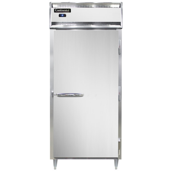 "Continental D1RXNSS 36"" Extra-Wide Solid Door Reach-In Refrigerator Main Image 1"