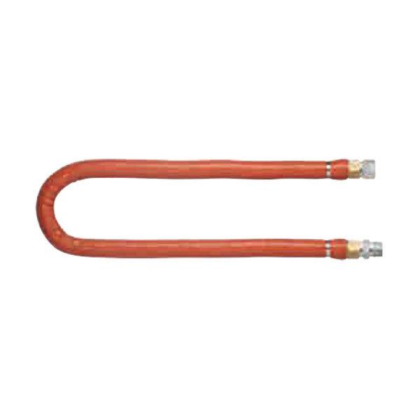 "Dormont H75BIP72 72"" Steam Connector Hose - 3/4"" Diameter Main Image 1"