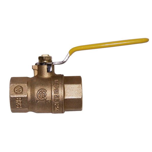 "Dormont 100FV 1"" Full Port Gas Shutoff Valve Main Image 1"