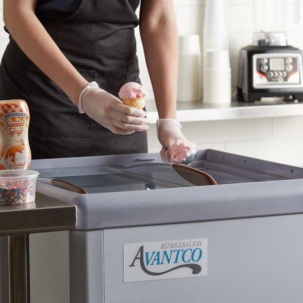 "Avantco ADC-4-HC Ice Cream Dipping Cabinet - 26"""