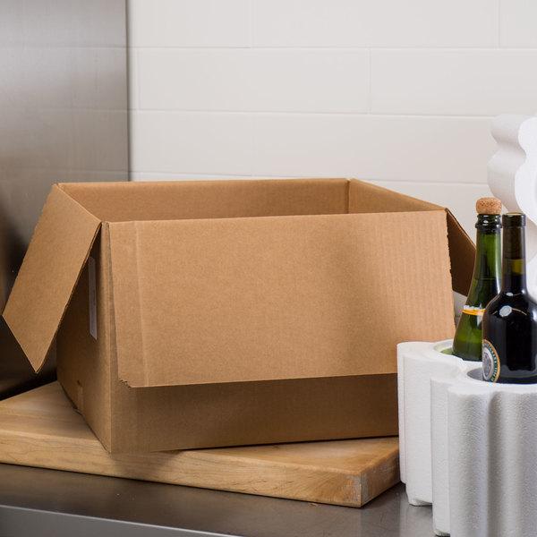 """Polar Tech Safeway 6 Bottle Wine / Champagne Shipper Box - 17 1/8"""" x 10 3/4"""" x 16"""""""
