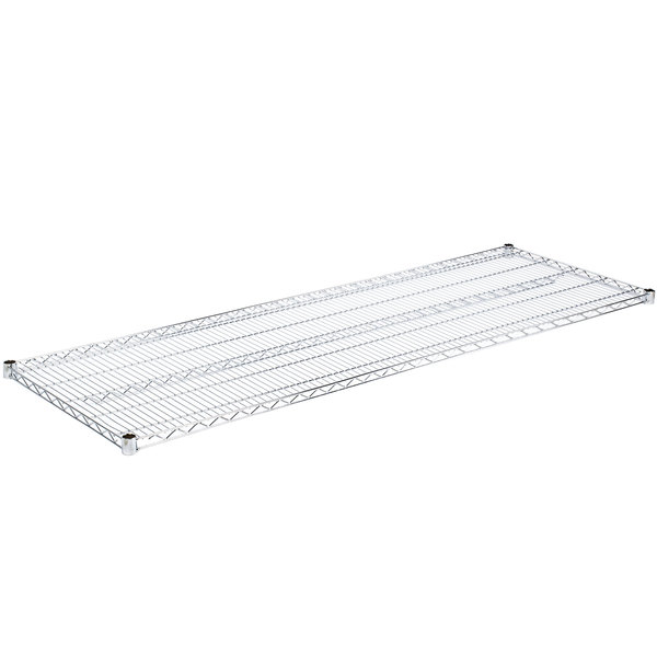 2 Shelves NSF Commercial Chrome Wire Shelving 24 x 72