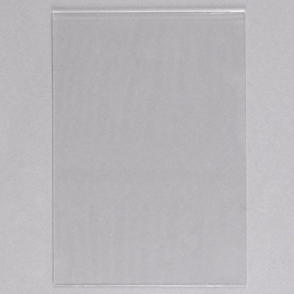"""American Metalcraft PVCSM 4"""" x 5 7/8"""" PVC Insert for Small Table Top Board Main Image 1"""