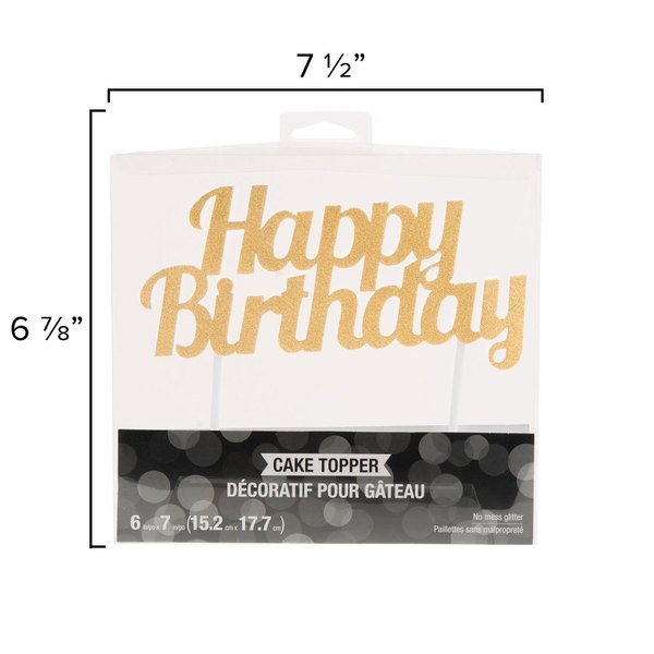 Birthday Cake Topper Image Preview Main Picture